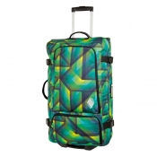 Team Gear Bag Wheelie geo green