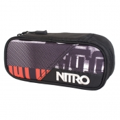 nitro pencil case Stiftebox white graft