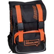 Rucksack CAMPUS HEADLINE black/orange